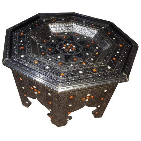 Table de salon marocaine