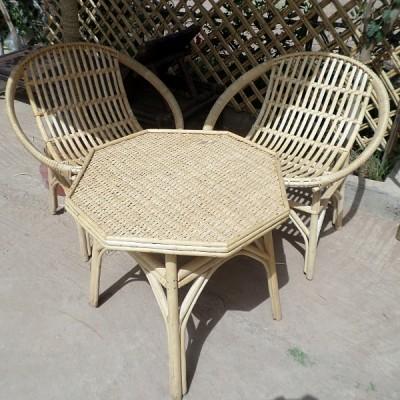 Salon De Jardin Marocain En Rotin Artisanat Marocain