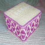Moroccan rattan stool