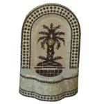 Petite Fontaine murale palmier