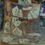 Tapis Beni Ouarain coloré