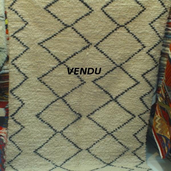 tapis beni ouarain tapis berb re du maroc. Black Bedroom Furniture Sets. Home Design Ideas
