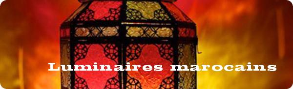 Luminaires marocains