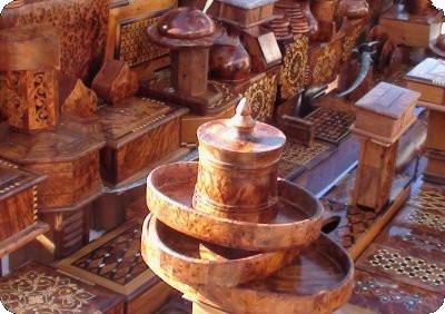 Marqueterie de Essaouira, Maroc