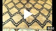 Tapis marocains Beni Ouarain
