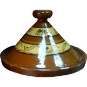 Moroccan Ceramic Tagine Platter