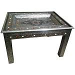 Table marocaine en métal