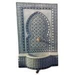 Fontaine en zellige du Maroc