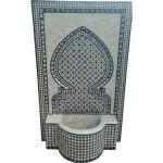 Fontaine marocaine murale en zellige