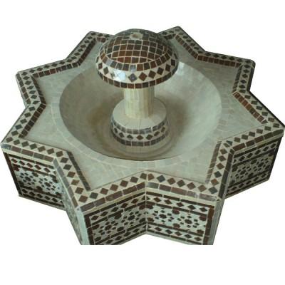 Moroccan Zellij Fountain