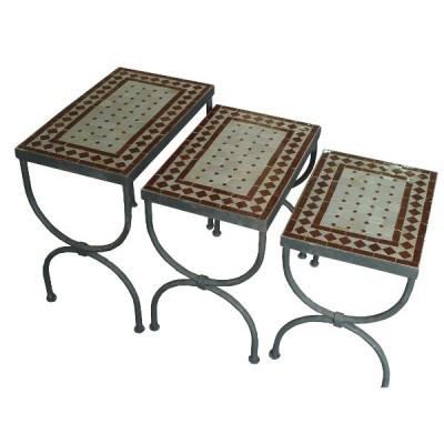 Zellige Tables