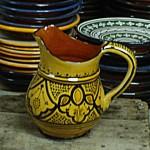Pichet marocain en céramique
