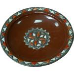 Plat marocain, céramique de Marrakech