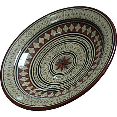 Plat en céramique marocain