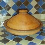 Plat à tajine marocain pour la cuisson