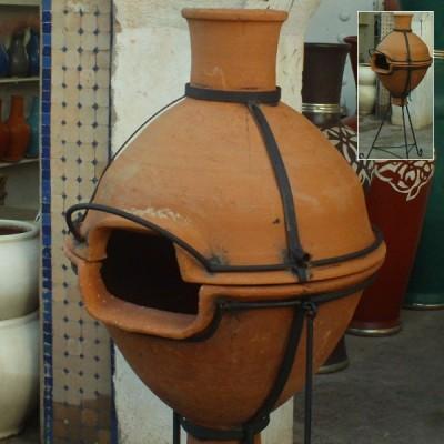 Moroccan Terracotta Barbecue Grill