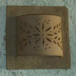 Moroccan Terracotta sconce