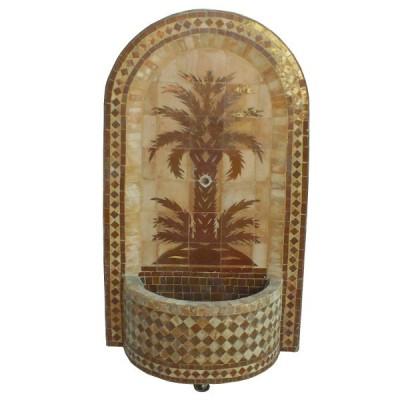 Moroccan fountain zellige