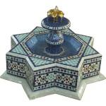 Fontaine marocaine en zellige