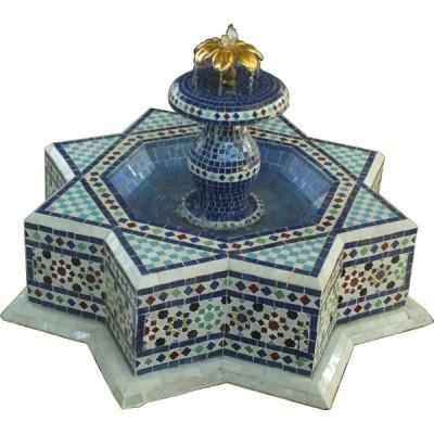 Star Zellij Fountain