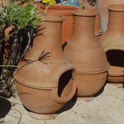 Barbecue en terre cuite du Maroc