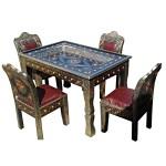 Table marocaine et chaises