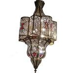Lustre marocain de luxe