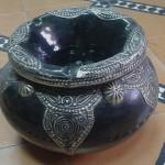 Cendrier marocain métal