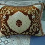 Brown Velvet Cushion cover