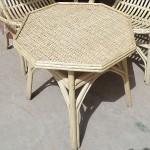 Rattan Moroccan Garden table