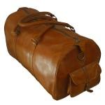 Leather Men's Travel Bag