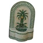 Fontaine murale palmier