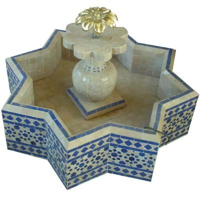 Fontaine octogonale du Maroc