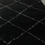 Black Beni Ouarain Rug