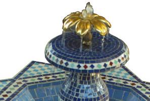 Fountains Zellige, Marrakesh, Morocco